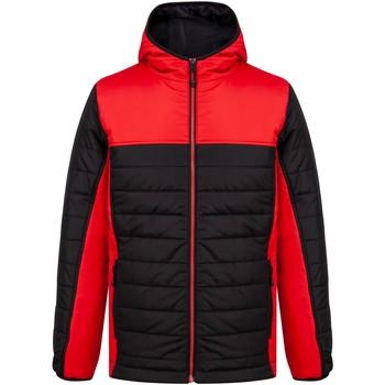 Abbigliamento Piumini Finden & Hales LV660 Nero/Rosso
