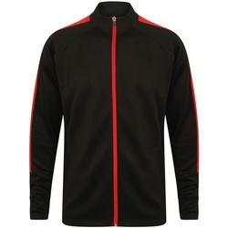 Abbigliamento Uomo Giacche sportive Finden & Hales  Nero/Rosso
