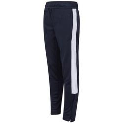 Abbigliamento Unisex bambino Pantaloni da tuta Finden & Hales  Blu navy/Bianco