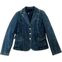 Abbigliamento Donna Giacche in jeans Diana Gallesi ATRMPN-28288 Blu