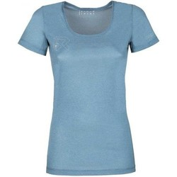Abbigliamento Donna T-shirt maniche corte Rock Experience T-shirt Femme  Offsets Cams SS bleu clair