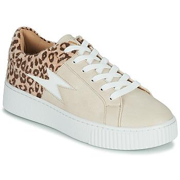 Scarpe Donna Sneakers basse Vanessa Wu VENDAVEL Beige / Leopard