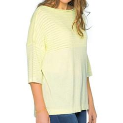 Abbigliamento Donna Maglioni Deeluxe S19304W Giallo
