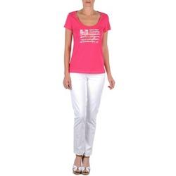 Abbigliamento Donna Pantaloni 5 tasche Tommy Hilfiger LENNY Rosa