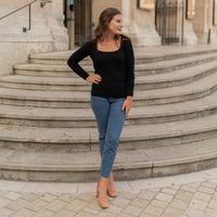 Abbigliamento Donna Maglioni Céleste NYSSA Nero