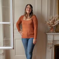 Abbigliamento Donna Maglioni Céleste NYSSA Rouille