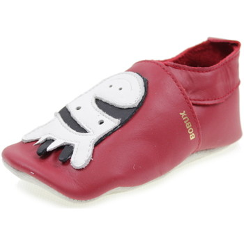 Scarpe Bambino Pantofole Bobux SOFT SOLE ROSSO