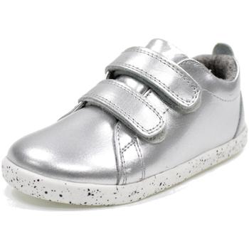 Scarpe Bambina Sneakers basse Bobux I WALK GRASS COURT WATERPROOF ARGENTO