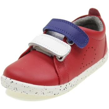 Scarpe Bambino Sneakers basse Bobux I WALK GRASS COURT SWITCH ROSSO