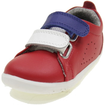 Scarpe Bambino Sneakers basse Bobux STEP UP GRASS COURT SWITCH ROSSO