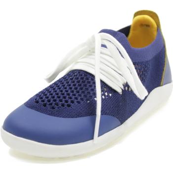 Scarpe Bambino Sneakers basse Bobux KID PLUS PLAY KNIT BLU