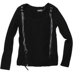 Abbigliamento Donna T-shirts a maniche lunghe Animagemella ATRMPN-28372 Nero