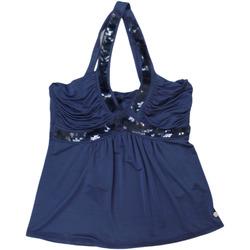 Abbigliamento Donna Top / T-shirt senza maniche Kocca ATRMPN-28374 Blu