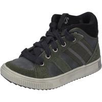 Scarpe Bambino Sneakers alte California Xboys BH483 Verde