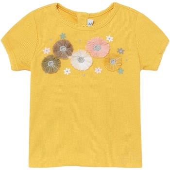 Abbigliamento Bambina T-shirt maniche corte Mayoral ATRMPN-28398 Giallo