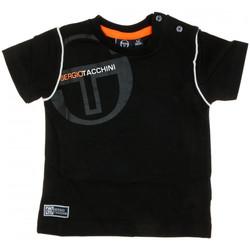Abbigliamento Uomo T-shirt maniche corte Sergio Tacchini 3076M0002 Nero