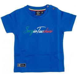 Abbigliamento Uomo T-shirt maniche corte Sergio Tacchini 3076M0016 Blu