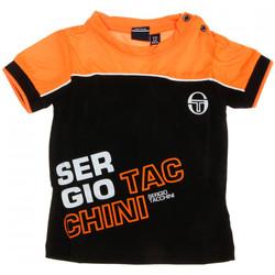 Abbigliamento Uomo T-shirt maniche corte Sergio Tacchini 3076M0001 Nero