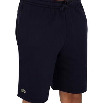Abbigliamento Uomo Shorts / Bermuda Lacoste Pantaloncini con logo blu