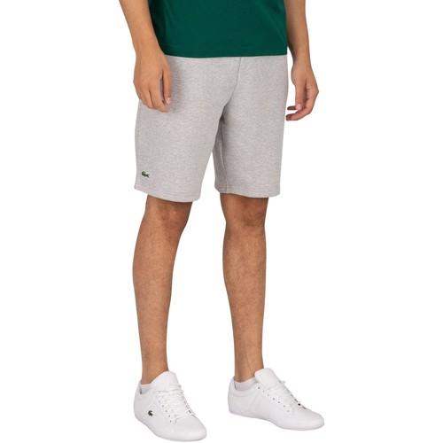 Abbigliamento Uomo Shorts / Bermuda Lacoste Pantaloncini con logo grigio