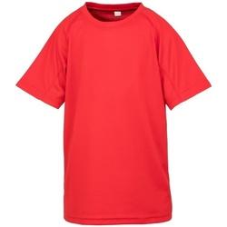 Abbigliamento Bambino T-shirt maniche corte Spiro S287J Rosso