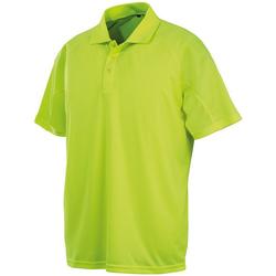 Abbigliamento Uomo Polo maniche corte Spiro S288X Giallo Fluo