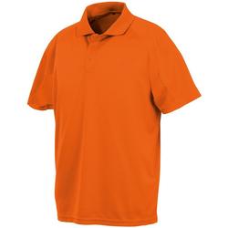 Abbigliamento Uomo Polo maniche corte Spiro S288X Arancione