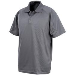 Abbigliamento Uomo Polo maniche corte Spiro S288X Grigio