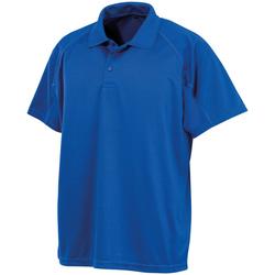 Abbigliamento Uomo Polo maniche corte Spiro S288X Blu reale