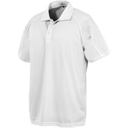 Abbigliamento Uomo Polo maniche corte Spiro S288X Bianco