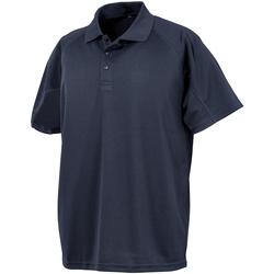 Abbigliamento Uomo Polo maniche corte Spiro S288X Blu navy