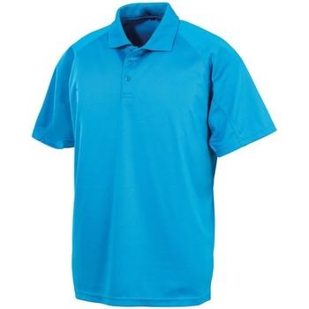 Abbigliamento Uomo Polo maniche corte Spiro S288X Azzurro acceso