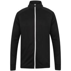 Abbigliamento Uomo Giacche sportive Finden & Hales LV871 Nero/Bianco