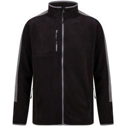Abbigliamento Felpe in pile Finden & Hales LV580 Nero/Grigio