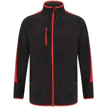 Abbigliamento Felpe in pile Finden & Hales LV580 Nero/Rosso