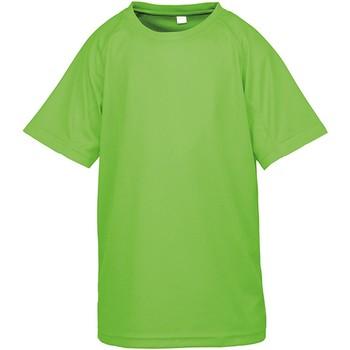 Abbigliamento Unisex bambino T-shirt maniche corte Spiro SR287B Lime