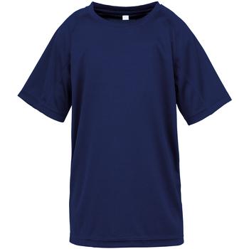 Abbigliamento Unisex bambino T-shirt maniche corte Spiro SR287B Blu navy