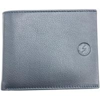 Borse Uomo Portafogli Gattinoni GATTINONI Oliver Horiz.Wallet Leather Blue WINOV2025MHA200 Black