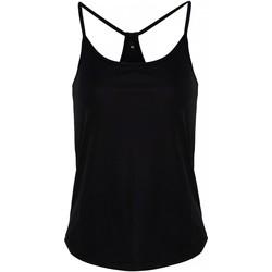 Abbigliamento Donna Top / T-shirt senza maniche Tridri TR043 Nero