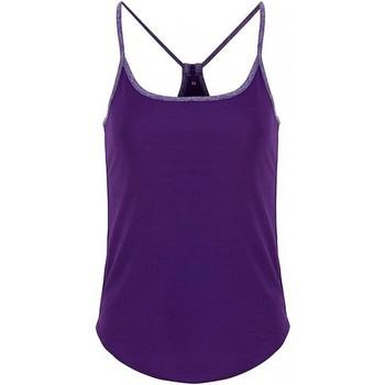 Abbigliamento Donna Top / Blusa Tridri TR043 Viola/Indigo