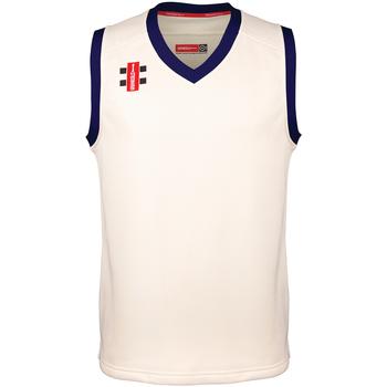 Abbigliamento Unisex bambino Top / T-shirt senza maniche Gray-Nicolls GN28J Bianco
