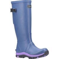 Scarpe Donna Stivali da pioggia Cotswold  Blu