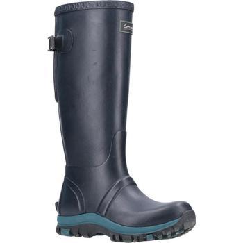 Scarpe Donna Stivali da pioggia Cotswold  Blu navy