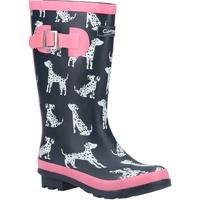 Scarpe Bambina Stivali da pioggia Cotswold  Rosso
