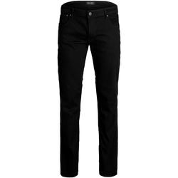 Abbigliamento Uomo Jeans slim Jack & Jones 12153645 JJITIM JJORIGINAL AM 816 PS NOOS BLACK DENIM Negro