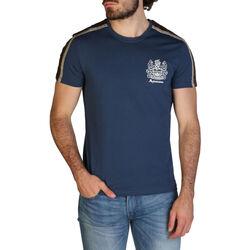 Abbigliamento Uomo T-shirt maniche corte Aquascutum - qmt017m0 Blu