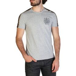 Abbigliamento Uomo T-shirt maniche corte Aquascutum - qmt017m0 Grigio