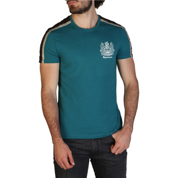 Abbigliamento Uomo T-shirt maniche corte Aquascutum - qmt017m0 Verde