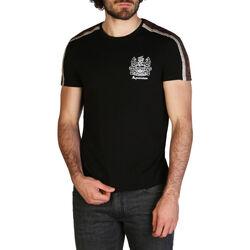 Abbigliamento Uomo T-shirt maniche corte Aquascutum - qmt017m0 Nero