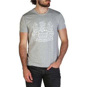Abbigliamento Uomo T-shirt maniche corte Aquascutum - qmt002m0 Grigio